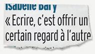 Coupure de presse Libre Match - mars 2007