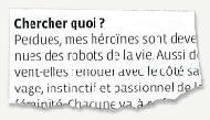 Article du Vif - janvier 2008