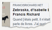 Le blog de Francis
